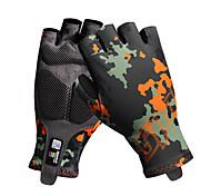 Спортивные перчатки Муж. Перчатки для велосипедистов Весна Лето Велоперчатки Нескользящий Без пальцев Перчатки для велосипедистов