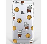 Крышка случая для телефона iphone 7 плюс iphone 6 мягкая раковина для iphone 7 iphone 6 / 6s плюс iphone 6 / 6s iphone 5s
