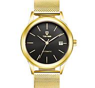 Муж. Спортивные часы Модные часы Механические часы Китайский С автоподзаводом Календарь Защита от влаги Светящийся Фосфоресцирующий