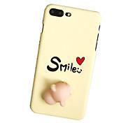 Назначение Чехлы панели С узором Своими руками болотистый Задняя крышка Кейс для Слова / выражения Твердый PC для Apple iPhone 7 Plus