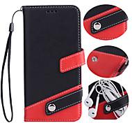 Случай для яблока iphone 7 7 плюс iphone 6s 6 плюс крышка случая держатель флип-карты pu кожаные чехлы для iphone 5s 5 se