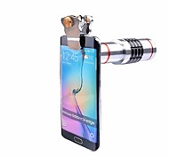 Universal Clips 18X Optical Telescope Lens Camera Lenses Telephoto Zoom Lens For iPhone 7 5 6 S Samsung Cell Phone Tripod