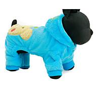 Собака Толстовки Одежда для собак На каждый день Носки детские Пурпурный Синий