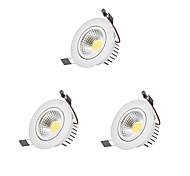 LED даунлайт Светодиодная лампа Лампа входит в комплект 3 шт.