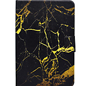 Case For Samsung Galaxy Tab T580 T560 Marble Pattern PU Leather Material Flat Protective Cover Case T550 T530 T350 T330 T280