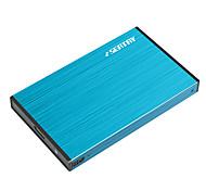 Seatay hdas6280-bl 2,5 pollici usb3.0 sata per ssd e azionamento meccanico hard disk in lega di alluminio azzurro