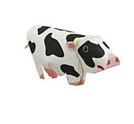 Jigsaw Puzzles DIY KIT 3D Puzzles Building Blocks DIY Toys Cow