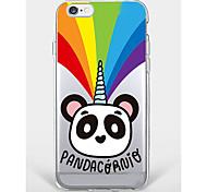 Случай для iphone 7 плюс iphone 6 panda модель телефона мягкая раковина для iphone 7 iphone6 / 6s плюс iphone6 / 6s iphone5 5s se