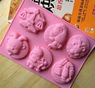 Cake Molds Novelty Cooking Utensils Bread Chocolate Cake Silica Gel Baking Tool Creative Kitchen Gadget High Quality