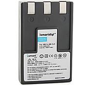 Ismartdigi 1L 3.7V 1050mAh Camera Battery for Canon IXUS 500 300 430 S230 S100 V3 V4