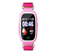 Men's Smart Watch Digital Silicone Band Blue Orange Pink