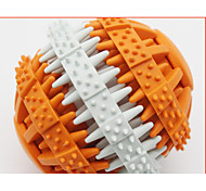 Dog Toy Pet Toys Ball Teeth Cleaning Toy Elastic Rubber