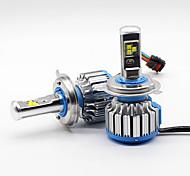 Philips 80w 9600lm h4 9003 hb2 светодиодные лампы для ламп накаливания hi / lo beam 6000k canbus