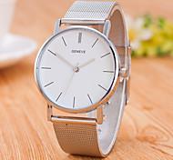 Муж. Модные часы Китайский Кварцевый Нержавеющая сталь Группа Повседневная минималист Серебристый металл