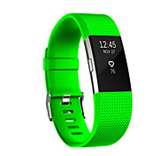 Для fitbit заряда 2 диапазона силиконовые регулируемые замены фитнес спорта ремень полосы браслет