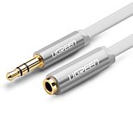UGREEN 3,5 мм аудио разъем Удлинитель, 3,5 мм аудио разъем to 3,5 мм аудио разъем Удлинитель Male - Female 0,5М (1.5ft)