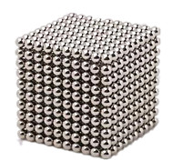 Магнитные игрушки 348 Куски 5mm М.М. Магнитные игрушки Исполнительные игрушки головоломка Куб Для получения подарка