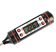 цифровой экран термометр тестер для приготовления пищи (черный цвет)