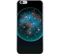 Случай для яблока iphone 7 7 плюс крышка случая кристаллическая звезда картина hd покрасила более толстый материал tpu мягкий случай