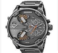 Муж. Армейские часы Нарядные часы Модные часы Наручные часы Китайский Кварцевый Календарь С двумя часовыми поясами Панк Крупный циферблат