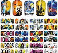 Стикер искусства ногтя Наклейка для переноса воды макияж Косметические Ногтевой дизайн