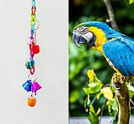 птица Игрушки для птиц Металл Пластик Разноцветный