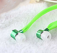 высокая стереогарнитура в ухо наушник металла громкой наушники с микрофоном 3,5 мм наушники для плеера Самсунга Iphone