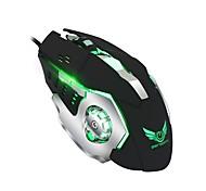Zerodate макросъемка безшовная механическая мышь 6d полная клавиша определение макросъемки четырехцветная подсветка игровая мышь поддержка
