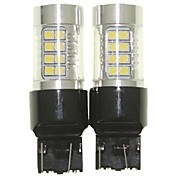 Sencart 2шт 7443 w21 21w w3x16q лампочка вел автомобиль хвост поворота лампы заднего фонаря (белый / красный / синий / теплый белый) (dc /