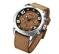 Муж. Модные часы Кварцевый Материал Группа Повседневная Черный Коричневый Зеленый