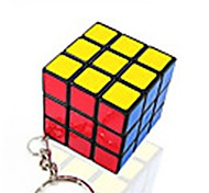 Кубик рубик Спидкуб Кубики-головоломки Брелок Гладкая наклейки Пластик
