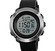 SKMEI Муж. Для мужчин Спортивные часы Армейские часы Наручные часы Цифровой Календарь Защита от влаги С двумя часовыми поясами тревога