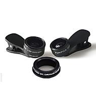 Aszune объектив мобильного телефона 180 объектив с рыбками для глаз 0.36x широкоугольный объектив 15x макрообъектив алюминиевый сплав