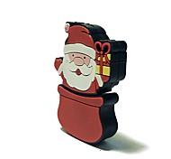 8gb рождество usb флеш-накопитель мультфильм творческий Санта-Клаус рождественский подарок usb 2.0