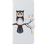 чехол для Samsung Galaxy Note 8 сова держатель карты pu кошелек кожаный мешок с рисунком