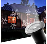 led снежинка 12w наружная газон снежинка лампа ac100-240v прохладно белый 1шт