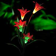 fiore di luce solare a led (1049-cis-28.078)