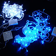 10M 6W 100-LED White Light 8 Sparkling Modes String Lamp Festival Decoration (110/220V)