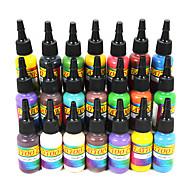 21 színű tetováló festék készlet 21 * 15ml