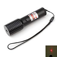 laser à haute performance rouge avec batterie et chargeur (5mW, 650nm, 1x16340)