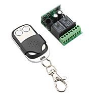 2-kanaals afstandsbedienbare schakelaar ontvanger en metalen 2-sleutels zender