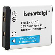 iSMART bateria câmera digital Nikon Coolpix S4100, S3100 coolpix, Coolpix S2500