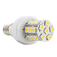 E14 3.5 W 27 SMD 5050 300 LM Warm White T Corn Bulbs AC 220-240 V