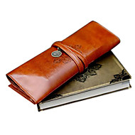 Trousse en Cuir - Marron