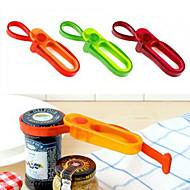 universel optrækkelige flaske skruenøgle åbningsbandet (tilfældig farve)