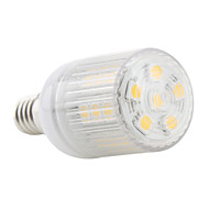 4W E14 LED Corn Lights T 27 SMD 5050 300 lm Warm White AC 220-240 V