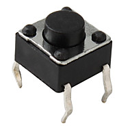 4-pin Tact Switch (100 Pieces a pack, 6x6x5mm)