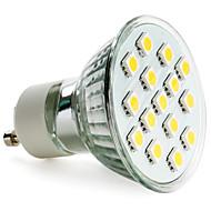 GU10 2.5 W 15 SMD 5050 200 LM Warm White MR16 Spot Lights AC 220-240 V