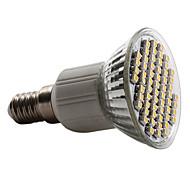 E14 4W 60 SMD 3528 180 LM Lämmin valkoinen / Kylmä valkoinen / Neutraali valkoinen MR16 LED-kohdevalaisimet AC 220-240 V