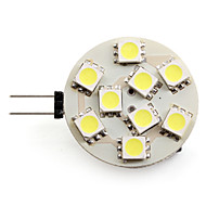 G4 2.5 W 9 SMD 5050 100 LM Natural White Spot Lights DC 12 V